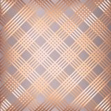 Abstract rose gold striped pattern background. Abstract background with rose gold striped pattern Stock Illustration
