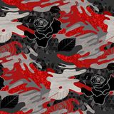 Abstract rose pattern Royalty Free Stock Photography