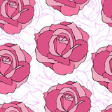 Abstract roses Royalty Free Stock Photography