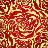 Abstract roses background. Royalty Free Stock Photo