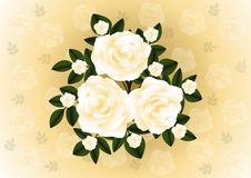 Abstract roses background Royalty Free Stock Photo