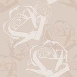 Abstract Roses Pattern Stock Photo