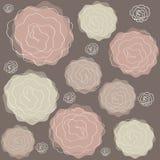 Abstract roses wallpaper Stock Photos