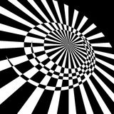 Abstract rotary movement. Stock Photography