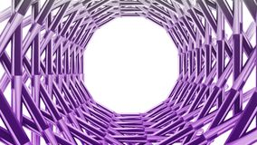 Abstract rotate grid royalty free illustration