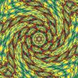 Abstract rotate sun rainbow circles swirl colorful pattern. Rotate sun rainbow circles swirl colorful pattern Stock Image
