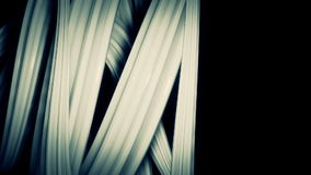 Abstract rotating spiral background stock video