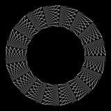 Abstract rotation circle design element. Royalty Free Stock Photos