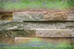 Abstract rough shale in borders. Texture of abstract rough shale and woodin borders Royalty Free Stock Photos