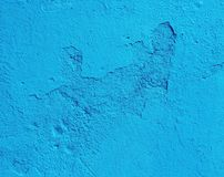 Abstract rough wall. Abstract blue rough wall Stock Photography