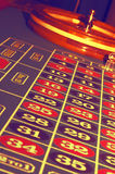 Abstract Roulette Table stock images