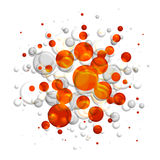 Abstract round background Royalty Free Stock Photos
