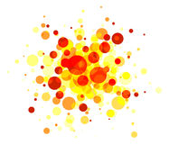 Abstract round background Stock Image