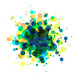 Abstract round background Royalty Free Stock Images