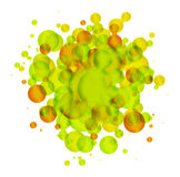 Abstract round background Stock Photo