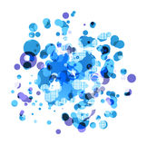 Abstract round background Royalty Free Stock Photo