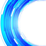Abstract round background of rectangles Royalty Free Stock Image