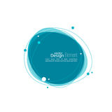 Abstract round banner Royalty Free Stock Photo