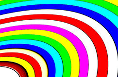 Abstract Round Colors Strips - Rainbow Colors Strips. Abstract Color Wallpaper and Background, Abstract Round Color rainbow strips, colors circle, simple color Stock Images