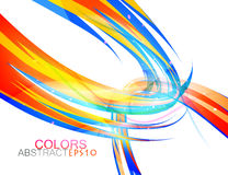 Abstract round colors vector Royalty Free Stock Photography