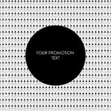 Abstract round ethnic promotion background. Ethnic brochure templates. Design ethnic elements. Promotion fashion and etc. Vector illustration EPS.8 EPS.10 Stock Photography
