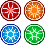 Abstract round forms Royalty Free Stock Image