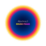 Abstract round frame gradient Stock Images
