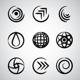 Abstract round icons. Stock Photos