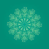 Abstract Round Lace Element Royalty Free Stock Images