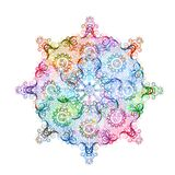 Abstract round lace pattern. Vector, EPS10 Stock Photo