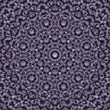 Abstract Round Mandala in Dark Blue to White colors - square background Stock Photos
