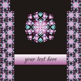 Abstract round ornaments Royalty Free Stock Photos