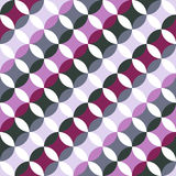 Abstract round pattern. Based on Traditional Japanese Embroidery Royalty Free Stock Photos
