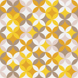 Abstract round pattern. Based on Traditional Japanese Embroidery. Stock Images