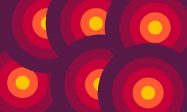 Abstract Round Shape Colorful background Royalty Free Stock Image