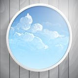 Abstract Round Shape With Frame Stock Photography