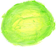 Abstract round watercolor background. Stock Image