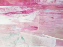 Abstract Roze Art Painting Modern art Eigentijds art. royalty-vrije stock fotografie