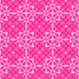 Abstract roze betegeld patroon, de Magenta achtergrond van de tegeltextuur, Naadloze illustratie Stock Afbeeldingen