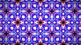 Abstract roze blauw wit lijnbehang Stock Afbeelding