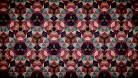 Abstract roze blauwgroen kleurenbehang Royalty-vrije Stock Foto's
