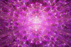 Abstract roze geometrisch patroon Stock Foto's