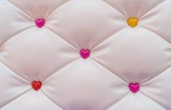 abstract roze hart met achtergrond Royalty-vrije Stock Afbeelding