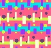 Abstract roze helder kleurrijk geometrisch patroon Royalty-vrije Stock Afbeelding