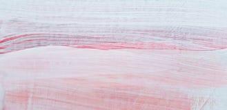 Abstract Roze Landschap Art Painting Background Modern art royalty-vrije illustratie