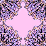 Abstract roze-lilac patroon Royalty-vrije Stock Fotografie