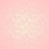 Abstract roze naadloos patroon. Vectorillustratio Royalty-vrije Stock Afbeelding