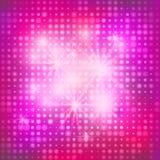 Abstract roze ontwerp met de cirkels royalty-vrije illustratie