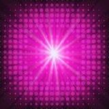 Abstract roze ontwerp met een uitbarsting Vector Illustratie