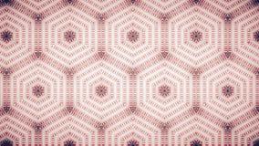Abstract roze room geometrisch behang Royalty-vrije Stock Fotografie